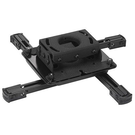 Chief Manufacturing RPAU Universal Projector Ceiling Mount with SLBU Interface Bracket RPAU