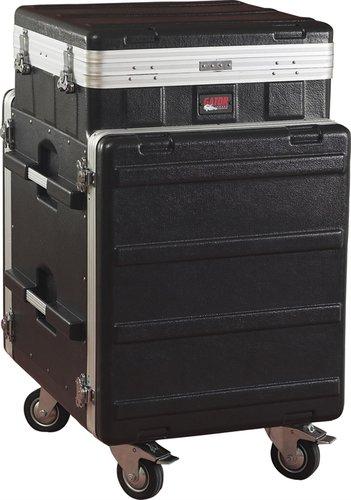 Gator Cases GRC-10X12PU 10 RU Pop-Up Slant Top Rack (12 RU Front, 12 RU Rear) GRC10X12-PU