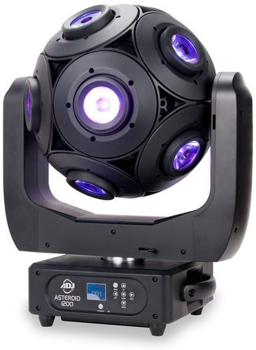 ADJ Asteroid 1200 12x15W RGBW DMX Controlled Rotating Sphere Effect ASTEROID1200