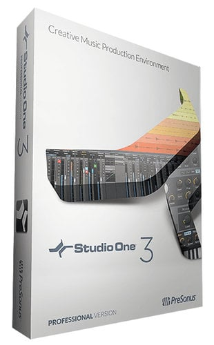 PreSonus Studio One 3 [EDUCATIONAL PRICING] Digital Audio Workstation Software S1-PROF-3-EDU