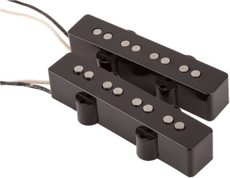 Fender Custom Shop Custom '60s Jazz Bass Pickups Set of Single-Coil Pickups for Jazz Bass 0992101000