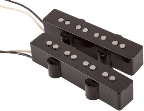 Fender 0992101000 Custom Shop Custom '60s Jazz Bass Pickups Set of Single-Coil Pickups for Jazz Bass 0992101000
