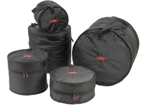 SKB Cases Drum Soft Gig Bag Set 4 5 Piece Gig Bag Kit for Drums 1SKB-DBS4