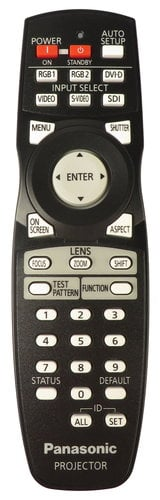 Panasonic N2QAYB000371 Panasonic Projector Remote N2QAYB000371