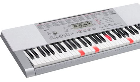 Casio LK-280 61-Key Touch Sensitive Light-Up Keyboard LK280