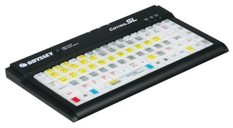 Odyssey CONTROL SL Compact Color Changing LED Backlit Keyboard CONTROLSL