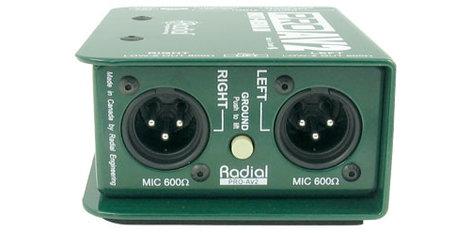 Radial Engineering ProAV2 Multimedia Passive Stereo Direct Box PROAV2