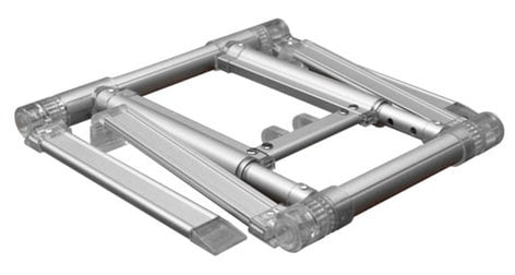 Odyssey L Stand 360 Ultra Silver Quick Setup Folding Stand for Laptops and Tablets LSTAND360SIL