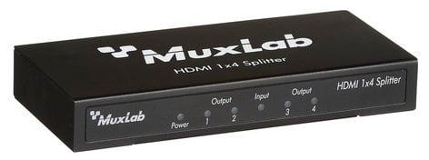 MuxLab 500421 HDMI 4K 1x4 Splitter MUX-500421