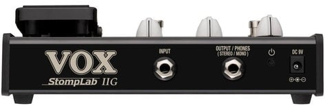 Vox Amplification StompLab IIG Multi-Effects Pedal Guitar with Wah Pedal STOMPLAB-2G