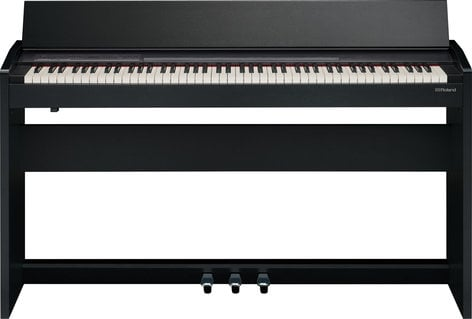 Roland F-140R 88 Key Compact Digital Piano in Black F140R-CB
