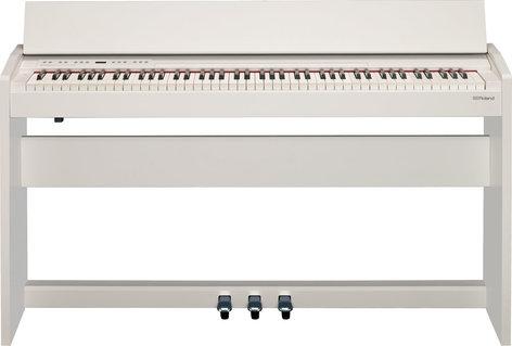 Roland F-140R 88-Key Digital Piano in White F140R-WH
