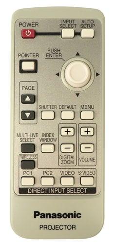 Panasonic N2QAYA000001 Panasonic LCD Projectors Remote N2QAYA000001