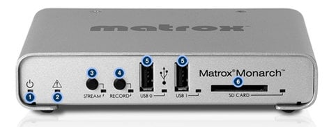 Matrox Monarch HD [EDUCATIONAL PRICING] Video Streaming and Recording Appliance MONARCH-HD-EDU