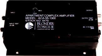 Blonder-Tongue ACA-35-1000 Apartment Complex Amplifier 35dB, 40-1000MHz, Push-Pull Discrete ACA-35-1000