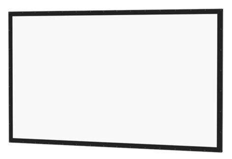 "Da-Lite 92995  77"" HDTV 16:9 Perm-Wall Fixed Frame Screen with Da-Mat Surface 92995"