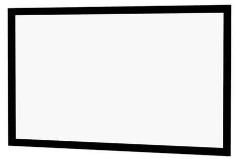 "Da-Lite 24758V 133"" Cinema Contour Fixed Frame Screen with HD Progressive 1.3 Surface 24758V"