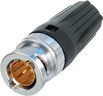 Neutrik NBNC75BDD6  BNC Cable Connector, Rear Twist NBNC75BDD6