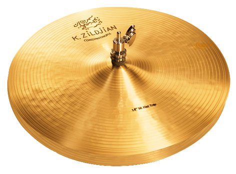 "Zildjian 14"" K Constantinople HiHat Pair Cast Bronze Drumset Cymbal Pair K1070"
