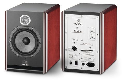 """Focal Solo6 Be 2-Way Active Shielded Monitor, 6.5"""" W cones SOLO6-BE"""