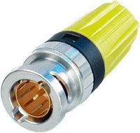Neutrik NBTC75BXX6  BNC Cable Connector, Tiny Rear Twist NBTC75BXX6
