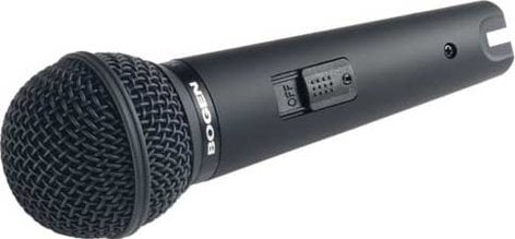 Bogen Communications HDU150 Microphone, Handheld Dynamic, Cardioid HDU150