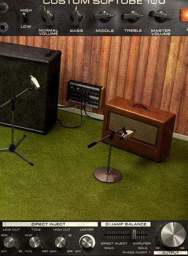 Softube Bass Amp Room Bass Amplifier Emulation Native Plugin, Virtual Version BASS-AMP-ROOM