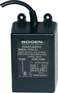 Bogen Communications PRSLSI 24 VDC 450mA Power Supply and Loop Start Interface PRSLSI