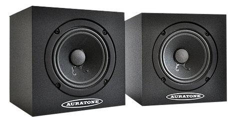 """Auratone 5C Super Sound Cube Pair of 4.5"""" 25W Passive Studio Monitors 5C"""