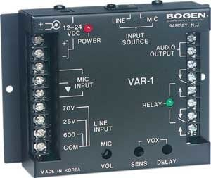 Bogen Communications VAR1 Voice Activated Relay  VAR1