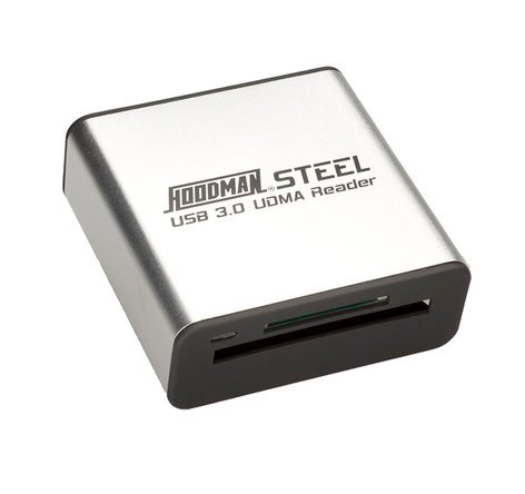 Hoodman Corporation Steel USB3 Reader Card Reader - USB 3.0 STEELUSB3