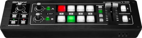 Roland System Group V-1HD Compact 4 HDMI Input 1080p Video/Audio Switcher/Mixer V-1HD