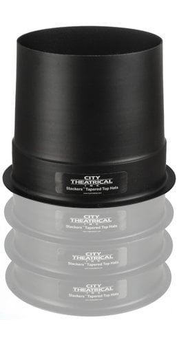 """City Theatrical 2860 Full 10"""" Stackers Tapered Top Hat 2860"""