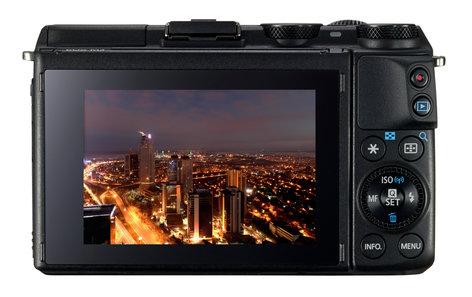 Canon EOS-M3-DUAL-LENS KIT 24.2MP EOS M3 DSLR with EF-M 18-55mm IS STM & EF-M 55-200mm STM Lenses EOS-M3-DUAL-LENS