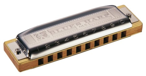 Hohner Blues Harp® MS Wood Comb Harmonica 532BX
