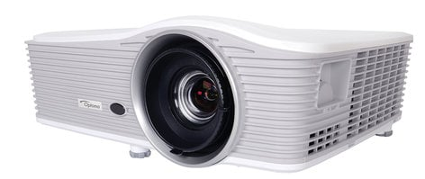 Optoma W515 6000 Lumen WXGA DLP ProScene Widescreen Installation Projector W515