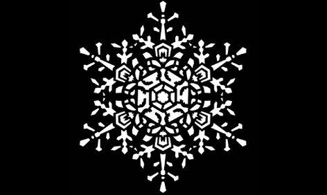 "Apollo Design Technology MS-3236 Steel Gobo - ""Snowflake Medium Lace"" Design MS-3236"