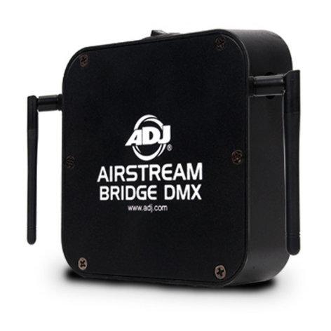 ADJ AIRSTREAM BRIDGE DMX DMX Controller via WiFLY or XLR Connection AIRSTREAM-BRIDGE-DMX