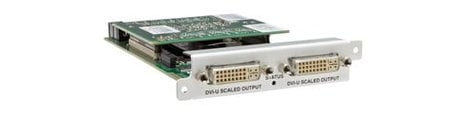 TV One CM-DVI-I-SC-2OUT  CORIOmaster/mini Output Module 2x DVI-I CM-DVI-I-SC-2OUT
