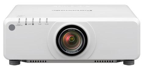 Panasonic PT-DX820LWU 8200 Lumen XGA 1-Chip DLP Projector in White Without Lens PTDX820LWU