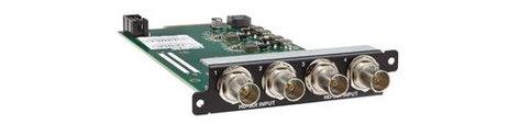 TV One CM-HDSDI-4IN  CORIOmaster/mini Input Module - 4x HD/SD-SDI via BNC CM-HDSDI-4IN