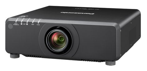 Panasonic PT--DX820LBU 8200 Lumen XGA 1-Chip DLP Projector in Black Without Lens PTDX820LBU
