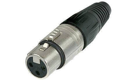 Neutrik NC3FX 3-pin Female XLR Cable Connector NC3FX