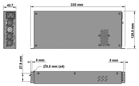 Enttec ALEPH1 CV DRIVER LED Tape Driver Device [Manufacturer Part #: 73520] 73520