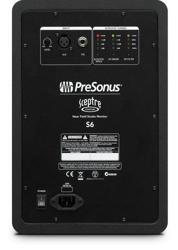 "PreSonus Sceptre S6 200W, 6"" CoActual Active Studio Monitor SCEPTRE-S6"