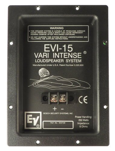 Electro-Voice F.01U.154.121  Crossover Network Assembly for EVI-15 F.01U.154.121