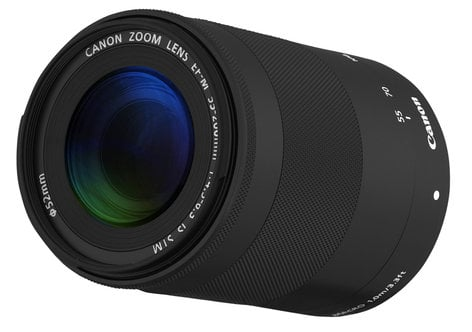 Canon 9517B002 EF-M 55-200mm f/4.5-6.3 IS STM EOS M Telephoto Zoom Lens 9517B002
