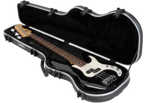 SKB Cases Shaped Standard Bass Case Hardshell Electrical Bass Case 1SKB-FB-4