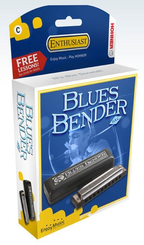 Hohner Blues Bender P.A.C. Blues Harmonica BBBX
