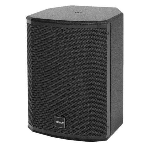 """Tannoy VXP 8 8"""" Self Powered Speaker, Black Finish VXP8-BLACK"""